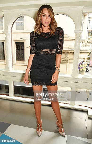 Michelle Heaton attends a special screening of 'War Dogs' at Picturehouse Central on August 11 2016 in London England