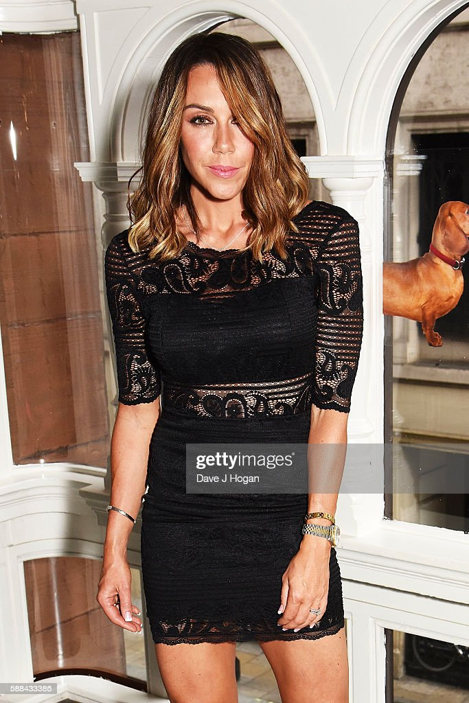 Michelle Heaton attends a special screening of 'War Dogs' at Picturehouse Central on August 11, 2016 in London, England.