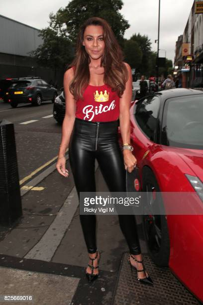 Michelle Heaton attends Ester Dee All About the Beach launch party at The Directors Party Lounge on August 2 2017 in London England