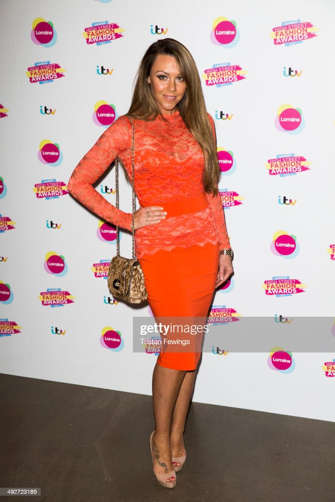 Michelle Heaton attends Lorraine's High Street Fashion Awards on May 21, 2014 in London, England.