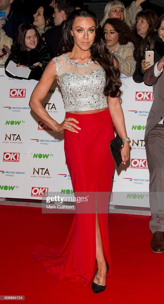 Michelle Heaton attends the 21st National Television Awards at The O2 Arena on January 20, 2016 in London, England.