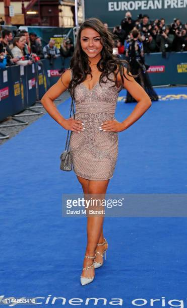"""Michelle Heaton attends the European Premiere of """"Extremely Wicked, Shockingly Evil And Vile"""" at The Curzon Mayfair on April 24, 2019 in London,..."""