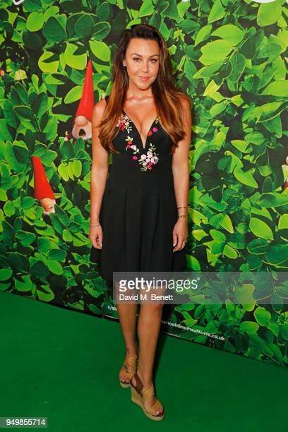 Michelle Heaton attends the Family Gala Screening of Sherlock Gnomes hosted by Sir Elton John and David Furnish at Cineworld Leicester Square on...