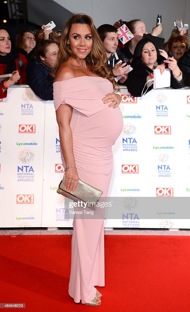 Michelle Heaton attends the National Television Awards at the 02 Arena on January 22, 2014 in London, England.