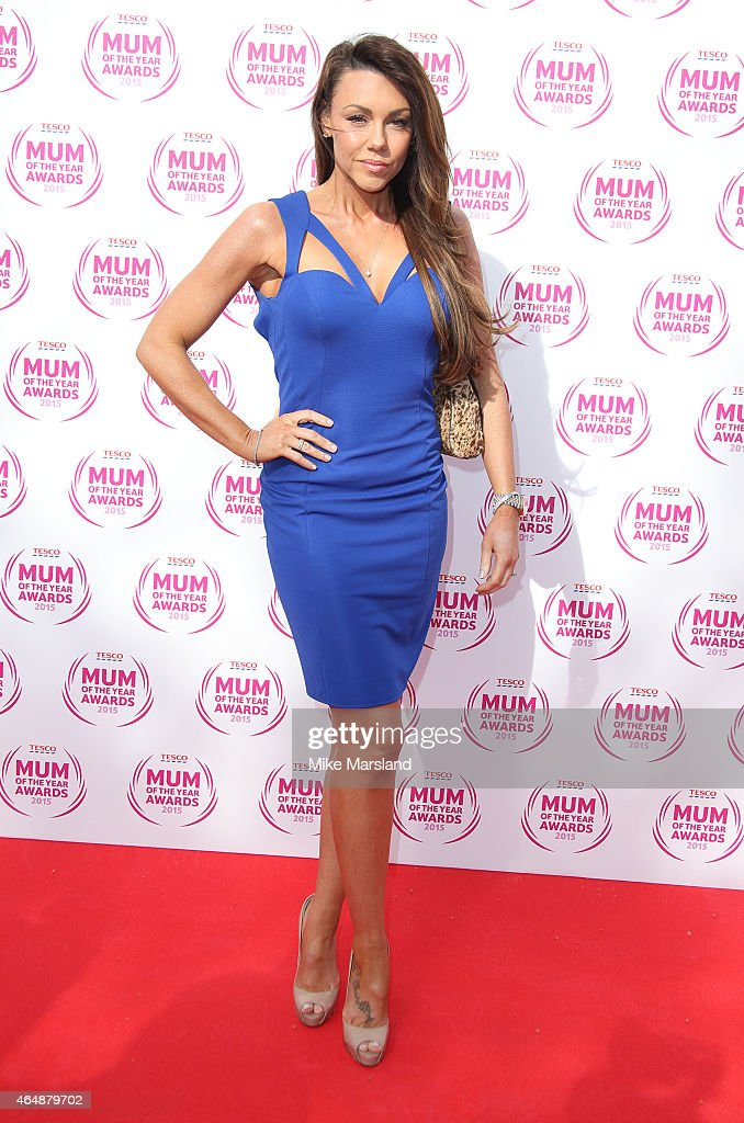 Michelle Heaton attends the Tesco Mum of the Year Awards at The Savoy Hotel on March 1, 2015 in London, England.