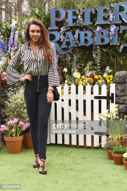 Michelle Heaton attends the UK Gala Premiere of 'Peter Rabbit' at the Vue West End on March 11 2018 in London England