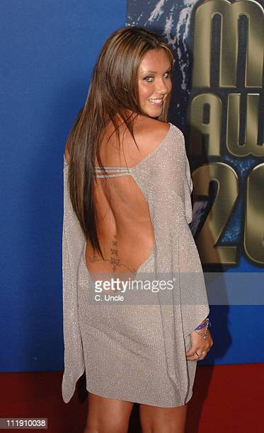 Michelle Heaton during 2006 World Music Awards Inside Arrivals at Earls Court in London Great Britain