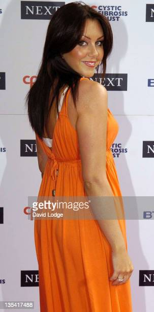Michelle Heaton during Cystic Fibrosis Trust Breathing Life Awards Arrivals at Royal Lancaster Hotel in London Great Britain