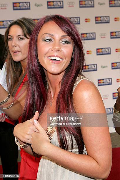 Michelle Heaton during FIFPRO World XI Player Awards at Wembley Conference Centre in London Great Britain