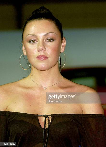 Michelle Heaton during Liberty X At The 2002 British International Motorshow at NEC Birmingham in Birmingham Great Britain