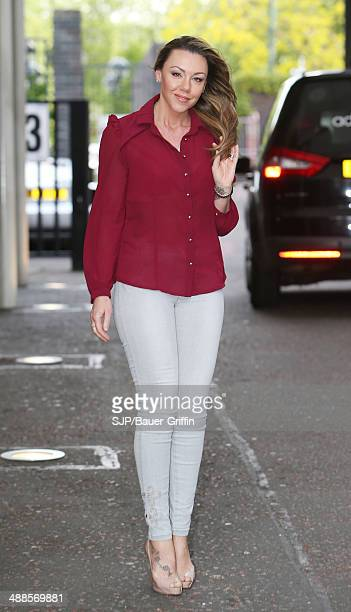 Michelle Heaton is seen on May 07 2014 in London United Kingdom
