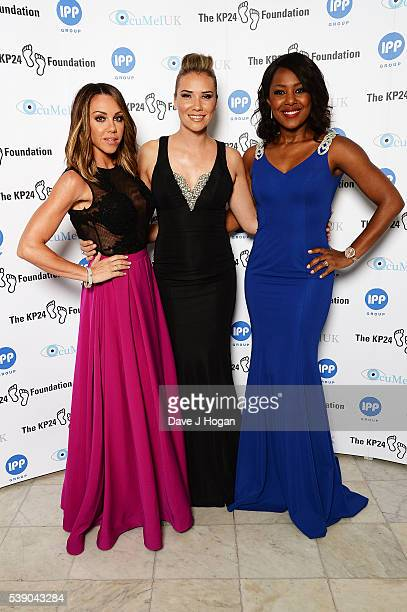 Michelle Heaton Jessica Taylor And Kelli Young Attends The Kp Foundation Charity Gala Dinner At The