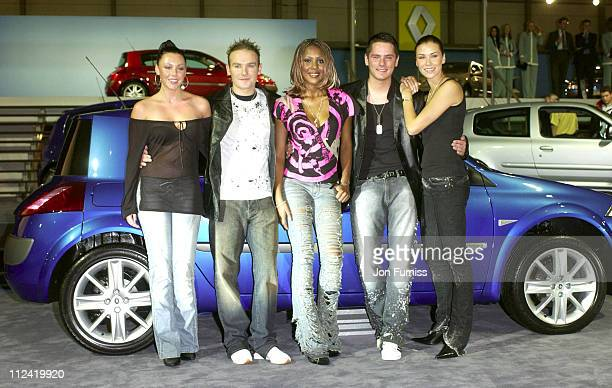Michelle Heaton Kevin Simm Kelli Young Tony Lundon and Jessica Taylor of Liberty X