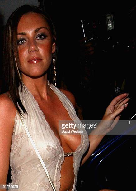 Michelle Heaton of Liberty X attends the Diet Coke Film Fest 2004: Dirty Dancing - gala film premiere at The Electric Cinema, 191 Portobello Road,...