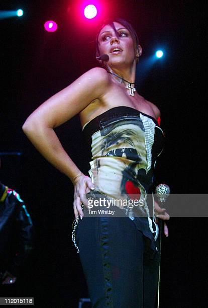 Michelle Heaton of Liberty X during Crusaids Fundraiser with Liberty X to Mark World AIDS Day at Coronet in London Great Britain