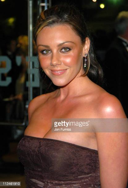 Michelle Heaton of Liberty X during 'Ladies in Lavender' Royal London Premiere Inside Arrivals at Odeon Leicester Square in London Great Britain