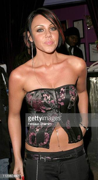 Michelle Heaton of Liberty X during NOW Magazine Christmas Party at 10 Rooms in London Great Britain