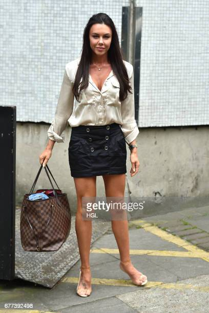 Michelle Heaton seen at the ITV studios on May 3 2017 in London England