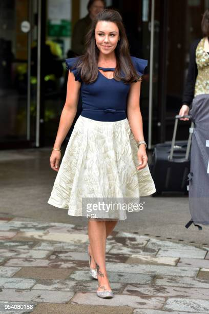 Michelle Heaton seen at the ITV Studios on May 3 2018 in London England