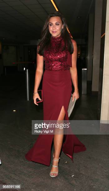 Michelle Heaton seen attending NHS Heroes Awards at London Hilton Park Lane on May 14, 2018 in London, England.