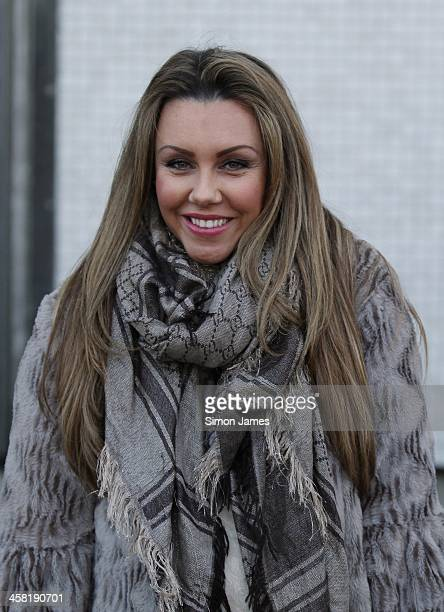 Michelle Heaton sighting on December 20 2013 in London England