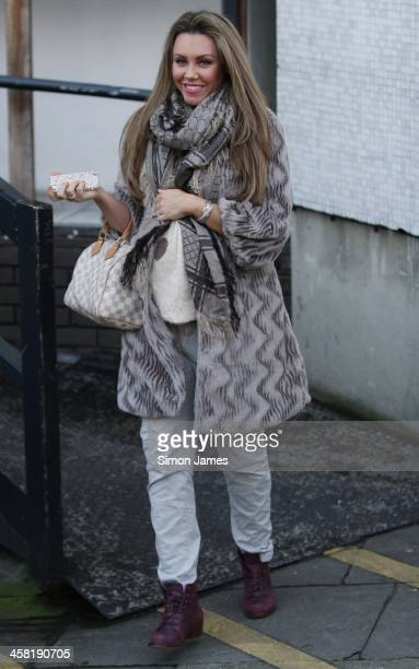 Michelle Heaton sighting on December 20 2013 in London England