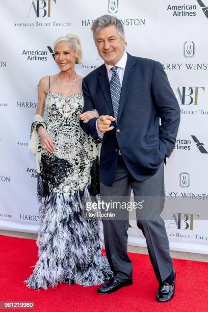 Michelle Herbert and Alec Baldwin attend the 2018 American Ballet Theatre Spring Gala at The Metropolitan Opera House on May 21 2018 in New York City