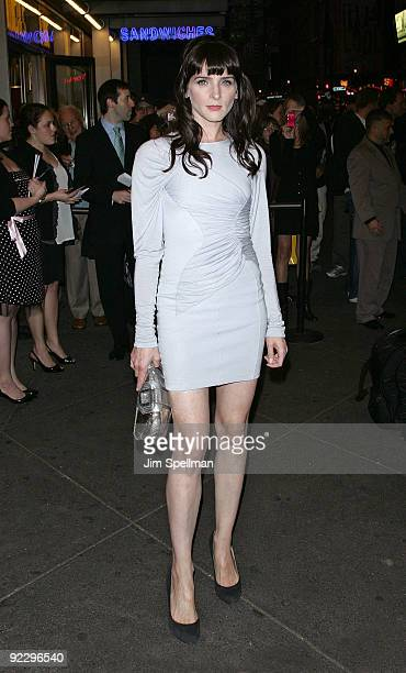 Michelle Hicks attends the opening night of After Miss Julie on Broadway at the Roundabout Theatre Company's American Airlines Theatre on October 22...