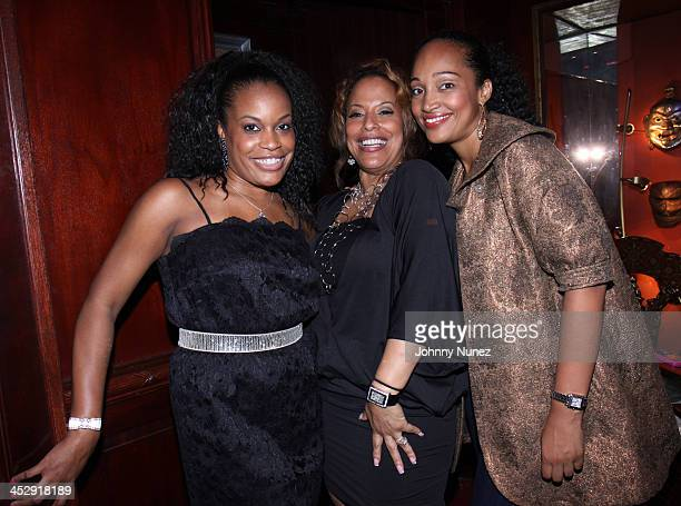 Michelle Huff Robin Clark and Debbie Asrate attend The Wiz Encores Summer Stars Series Opening Night Party at K Lounge on June 18 2009 in New York...