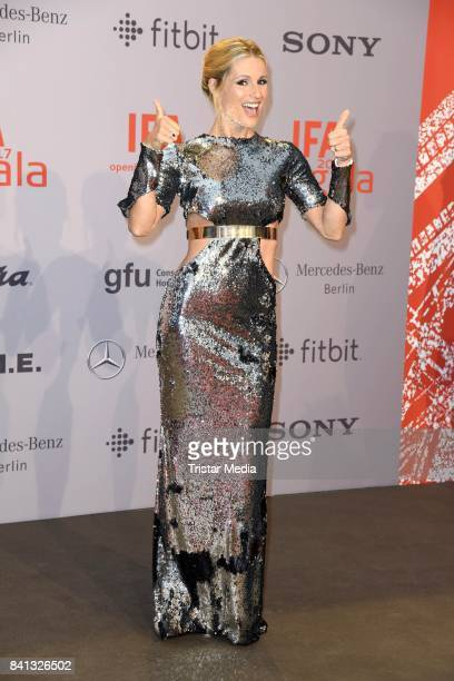 Michelle Hunziker attends the IFA 2017 opening gala on August 31 2017 in Berlin Germany