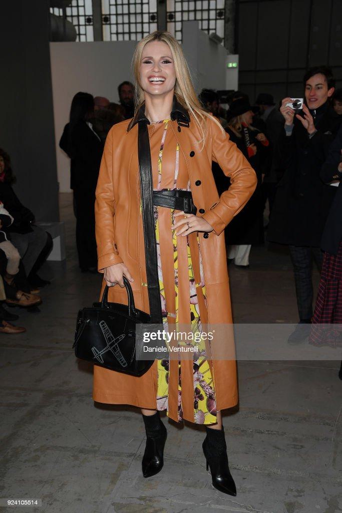 Trussardi - Front Row - Milan Fashion Week Fall/Winter 2018/19