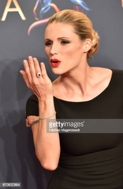 Michelle Hunziker during the world premiere of the horse show 'EQUILA' at Apassionata Showpalast Muenchen on November 5 2017 in Munich Germany