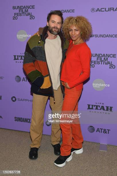 Michelle Hurd and Garret Dillahunt attend the 2020 Sundance Film Festival Sergio Premiere at Eccles Center Theatre on January 28 2020 in Park City...