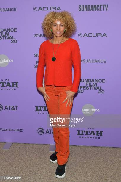 Michelle Hurd attends the 2020 Sundance Film Festival Sergio Premiere at Eccles Center Theatre on January 28 2020 in Park City Utah