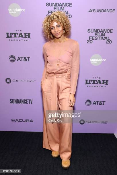 Michelle Hurd attends the Bad Hair premiere during the 2020 Sundance Film Festival at The Ray on January 23 2020 in Park City Utah