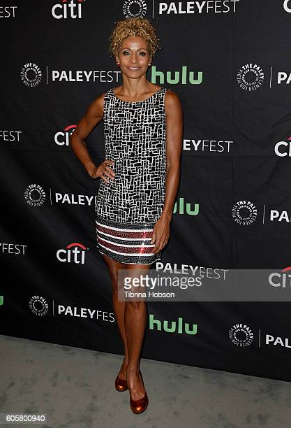 Michelle Hurd attends The Paley Center for Media PaleyFest 2016 fall TV preview for STARZ at The Paley Center for Media on September 14 2016 in...