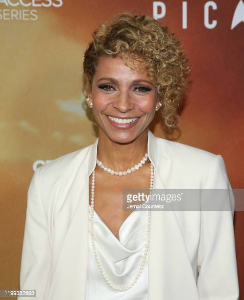 Michelle Hurd attends the premiere of Star Trek Picard at ArcLight Cinerama Dome on January 13 2020 in Hollywood California