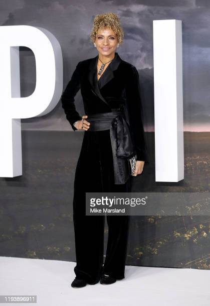 Michelle Hurd attends the Star Trek Picard UK Premiere at Odeon Luxe Leicester Square on January 15 2020 in London England