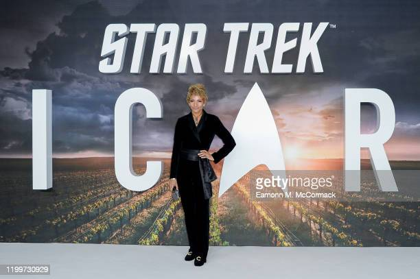 """Michelle Hurd attends the """"Star Trek Picard"""" UK Premiere at Odeon Luxe Leicester Square on January 15, 2020 in London, England."""