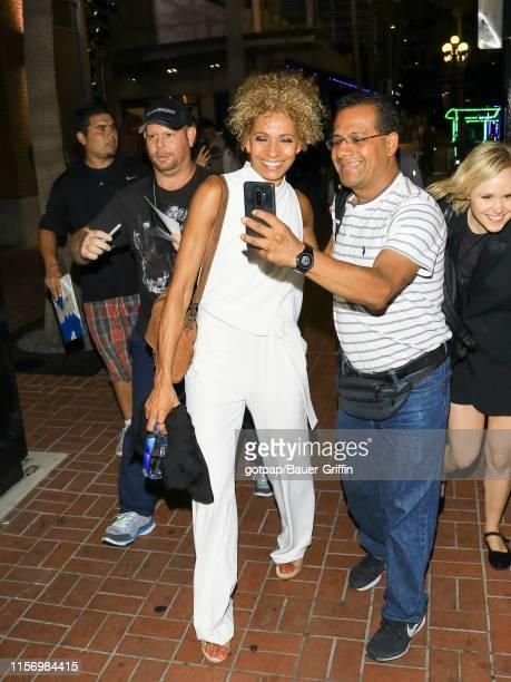 Michelle Hurd is seen on July 20, 2019 in San Diego, California.