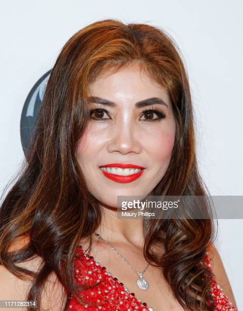 Michelle Huynh attends the eZWay Awards Golden Gala at Center Club Orange County on August 30 2019 in Costa Mesa California
