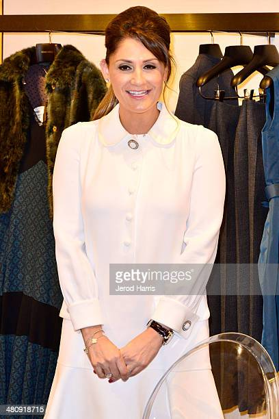 Michelle Janavs attends Louis Vuitton with Vogue and Michelle Janavs discover the Women's ReadyToWear Collection on March 27 2014 in Costa Mesa...