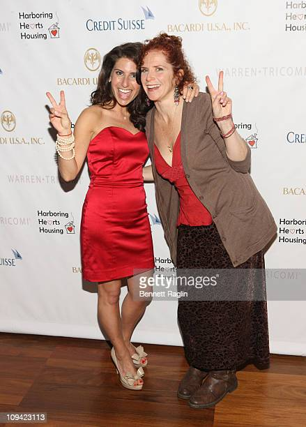 Michelle Javian and Amy Stiller attend the 2011 Harboring Hearts Housing fundraiser at the Rubin Museum of Art on February 24 2011 in New York City
