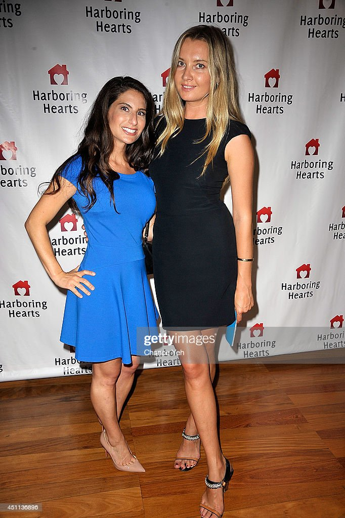 Michelle Javian and Ellen Kramer attend Harboring Hearts' 2nd annual Summer Soiree at Rubin Museum of Art on June 23, 2014 in New York City.