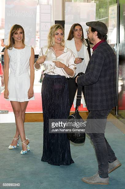 Michelle Jenner Amaia Salamanca and Fele Martinez attend 'Nuestros Amantes' photocall at Palafox Cinema on May 31 2016 in Madrid Spain