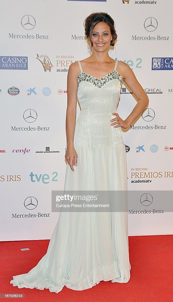 Michelle Jenner attends Iris Awards 2013 on April 25, 2013 in Madrid, Spain.