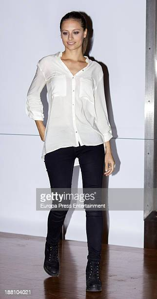 Michelle Jenner attends 'Isabel Vestuario de la serie de television' on November 14 2013 in Madrid Spain