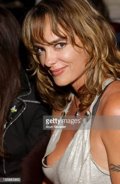 Michelle Johnson during Mercedes-Benz Fall 2004 Fashion