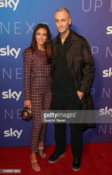 Michelle Keegan and Joe Gilgun attend the Sky TV Up Next Event at Tate Modern on February 12 2020 in London England Up Next is Sky's inaugural...
