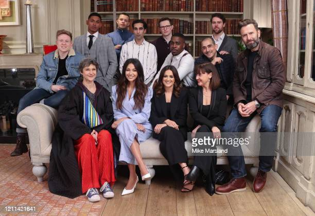 Michelle Keegan and the cast of Our Girl attend the Our Girl Screening at Soho Hotel on March 09 2020 in London England